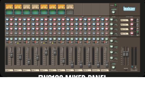 FW810s Mixer Panel System Control