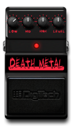 Death metal on epedal