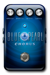 Blue pearl chorus on epedal