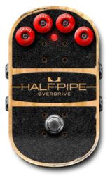 Half pipe on epedal