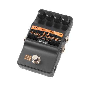 Half-Pipe Overdrive with iStomp label