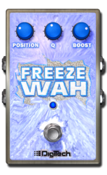 Freeze wah off epedal