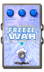 Freeze wah on epedal