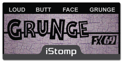 Grunge label epedal