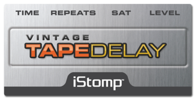 Tapedelay label epedal