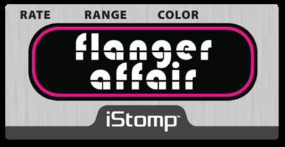 Flangeraffair label epedal