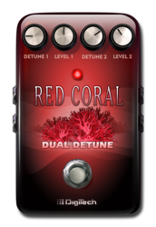 Digitech red coral pedaloff epedal