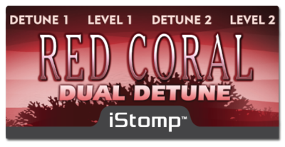 Istomp redcoral label epedal