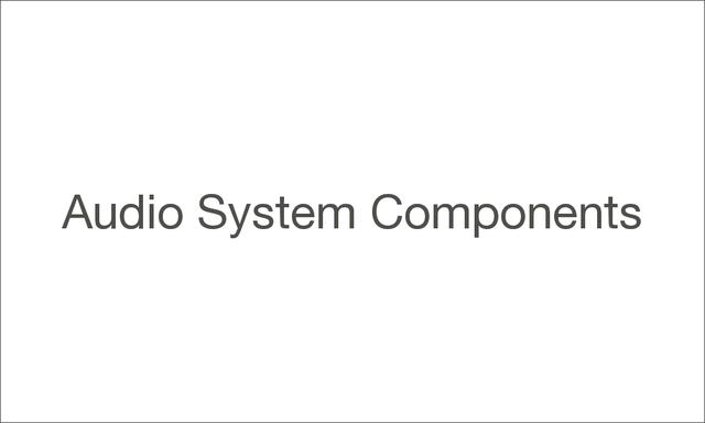 Audiosystemcomponents 1000 large