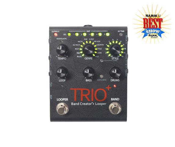 Trio plus top badge large large