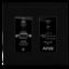 Dx tx dwp black decor front straighton tiny square