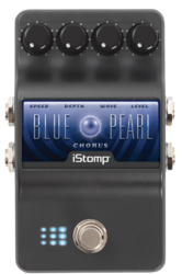 Blue peral label epedal
