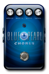 Blue pearl chorus off epedal
